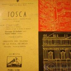Discos de vinilo: MARIA CALLAS: TOSCA ACTO III (LA VOZ DE SU AMO,1982). Lote 37808388