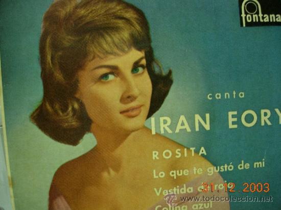IRAN EORY EP ROSITA (Música - Discos de Vinilo - EPs - Solistas Españoles de los 50 y 60)