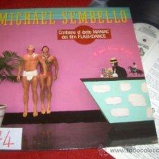 Discos de vinilo: MICHAEL SEMBELLO BOSSA NOVA HOTEL LP 1983 WB PROMO ED ESPAÑOLA SPAIN. Lote 37810474