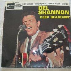 Discos de vinilo: EP DEL SHANNON // KEEP SEARCHIN´ + 3. Lote 37812249