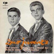 Discos de vinilo: DUO JUVENT'S - CIAO AMORE - DOS ITALIANITOS - DETEN LA NOCHE - EP SPAIN 1962 EX / EX. Lote 37815536