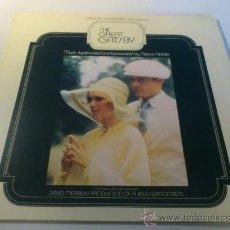 Discos de vinilo: THE GREAT GATSBY / B.S.O. 1974 !! DOBLE LP !! RARA 1ª EDIC ORIG USA !! TODO EXC !!!. Lote 37818331