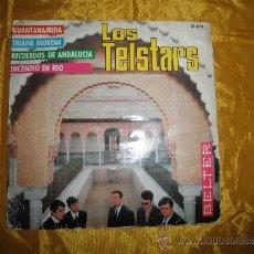 Discos de vinilo: LOS TELSTARS. GUANTANAMERA + 3 . EP. BELTER 1967. Lote 37833672