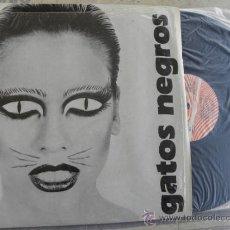 Discos de vinilo: LOS GATOS NEGROS -LP 1987 -BUEN ESTADO. Lote 37854957