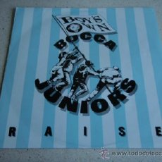 Discos de vinilo: BOCCA JUNIORS ( RAISE(63 STEPS TO HEAVEN) 3 VERSIONES ) ENGLAND-1990 MAXI FFRR RECORDS. Lote 37838011