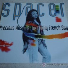 Discos de vinilo: PRECIOUS WILSON & THE FUNKY FRENCH GUU ( SPACER - SPACER DUB - SOFTLAND ) FRANCE-1992 MAXI45 EMI. Lote 37844875