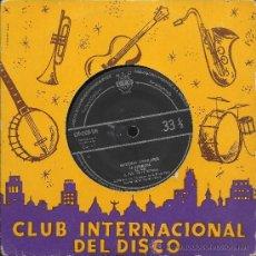 Discos de vinilo: MARCHAS POPULARES: LA MARSELLESA / ST CYRE... EP 33 RPM (C.I.D., 1959). Lote 37845246