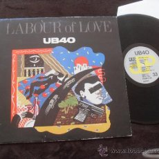 Discos de vinilo: UB40 LP LABOUR OF LOVE MADE IN ENGLAND UK 1983. Lote 37849579