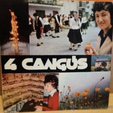 Discos de vinilo: 4 CANÇÚS DE'RA VAL D'ARÁN. HIMNE DE'RA VAL D'ARÁN. EP BARNAFÓN. 1976. DE GRAN LUJO. ****/****. Lote 37850143