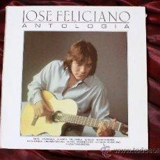 Discos de vinilo: DISCO VINILO LP DE JOSE FELICIANO ANTOLOGIA 1986. Lote 37886253