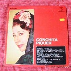 Discos de vinilo: DISCO VINILO LP DE CONCHITA PIQUER 1970.. Lote 37886441