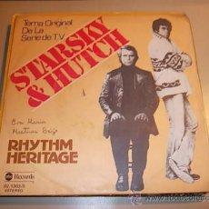 Discos de vinilo: STARSKY Y HUTCH TEMA ORIGINAL DE LA SERIE T.V. RHYTHM HERITAGE. ABC RECORDS 02.1303/0 1.978. Lote 37889879