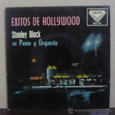 Discos de vinilo: STANLEY BLACK SU PIANO Y ORQUESTA - ÉXITOS DE HOLLYWOOD - EP DECCA - STO 111 - ESPAÑA 1959. Lote 37851910