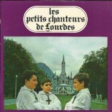 Discos de vinilo: LES PETITS CHANTEURS DE LOURDES: VIERGE SAINTE (AVE MARIA).... (EP 45 RPM, AGORILA, SIN FECHA). Lote 37853263