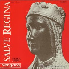Discos de vinilo: ESCOLANÍA Y CAPILLA DE MONTSERRAT: SALVE REGINA (EP, 33 RPM, ARIOLA, 1963). Lote 37853524