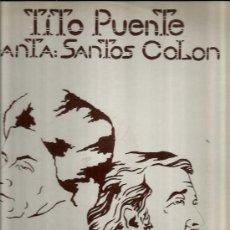 Discos de vinilo: LP TITO PUENTE & SANTOS COLON : NO HAY MEJOR ( THERE IS NO BETTER ). Lote 37856912