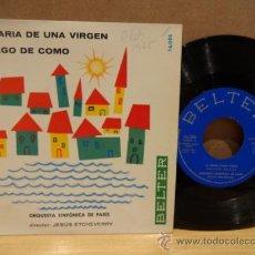 Discos de vinilo: ORQUESTA SINFÓNICA DE PARÍS, DIR / JESÚS ETCHEVERRY. PLEGARIA DE UNA VIRGEN, BELTER 1964. ****/****. Lote 37876090
