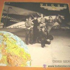 Discos de vinilo: LP MOVIDA MADRILEÑA TECNO POP 1984 VIDEO CÓDIGO SECRETO EX/EX. Lote 37861999