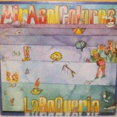 Discos de vinilo: MIRASOL COLORES - LA BOQUERIA EDIGSA - 1975. Lote 37884985