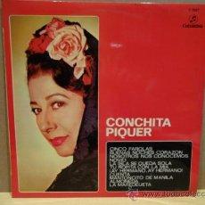 Discos de vinilo: CONCHITA PIQUER. CINCO FAROLAS. LP COLUMBIA 1970. CALIDAD NORMAL ***/**. Lote 37877326
