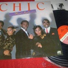 Discos de vinilo: CHIC REAL PEOPLE LP 1980 ATLANTIC PROMO ED ESPAÑOLA SPAIN. Lote 37878363