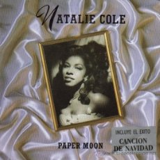 Discos de vinilo: NATALIE COLE-PAPER MOON + THE CHRISTMAS SONG SINGLE VINILO 1991 (GERMANY). Lote 37879656