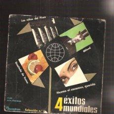 Discos de vinilo: 4 EXITOS MUNDIALES . Lote 37883913