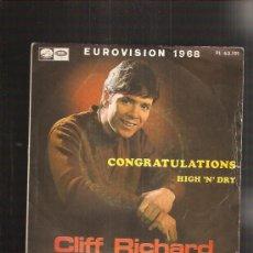 Discos de vinilo: CLIFF RICHARD. Lote 37884828