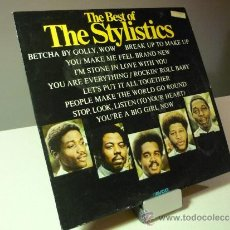 Discos de vinilo: THE STYLISTICS THE BEST OF LP. Lote 37885961