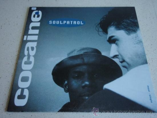 Discos de vinilo: SOUL PATROL ( COCAINE 2 VERSIONES - MAIN ATTRACTION 2 VERSIONES ) 1991-EEC MAXI45 ELECTROLA - Foto 1 - 37889396