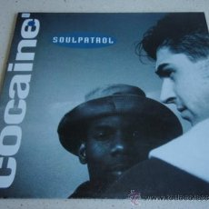 Discos de vinilo: SOUL PATROL ( COCAINE 2 VERSIONES - MAIN ATTRACTION 2 VERSIONES ) 1991-EEC MAXI45 ELECTROLA. Lote 37889396