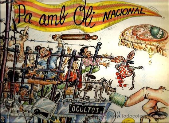 LP OCULTOS : PA AMB OLI NACIONAL ( OCULTS ) (Música - Discos - LP Vinilo - Grupos Españoles de los 70 y 80)