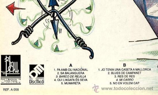 Discos de vinilo: LP OCULTOS : PA AMB OLI NACIONAL ( OCULTS ) - Foto 2 - 37896643