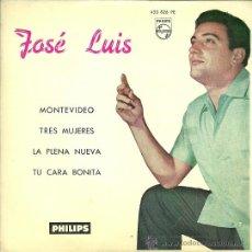 Discos de vinilo: JOSE LUIS EP SELLO PHILIPS AÑO 1962 EDITADO EN ESPAÑA. Lote 37901637