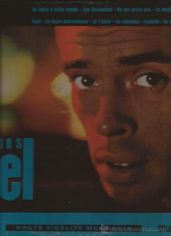 LP-JACQUES BREL NUM.2-COLUMBIA 249-CANADA-196?? (Música - Discos - LP Vinilo - Canción Francesa e Italiana)