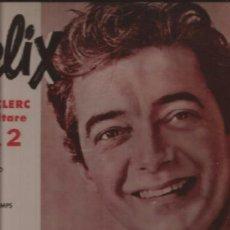 Discos de vinilo: LP-FELIX LECLERC ET SA GUITARRE-EPIC 2008-CANADA-195??. Lote 37904550