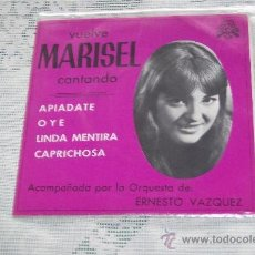 Discos de vinilo: MARISEL 7´EP APIADATE + 3 TEMAS (1975) SELLO LUYTON *DISCO PROMOCIONAL-EXCEL.ESTADO. Lote 37906071