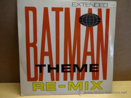 BATMAN THEME RE-MIX. SINGLE BAM CARUSO ( ENGLAND ) 1988. IMPECABLE. ****/**** (Música - Discos - Singles Vinilo - Techno, Trance y House)