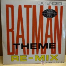Discos de vinilo: BATMAN THEME RE-MIX. SINGLE BAM CARUSO ( ENGLAND ) 1988. IMPECABLE. ****/****. Lote 37941617