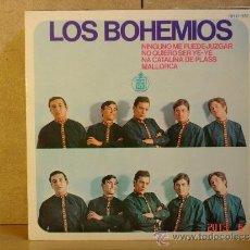 Discos de vinilo: LOS BOHEMIOS - NINGUNO ME PUEDE JUZGAR + 3 - HISPAVOX HH 17-372 - 1966. Lote 37913320
