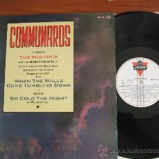 Discos de vinilo: COMMUNARDS PRESENTA THE MULTIMIX CON LOS MEJORES MOMENTOS DE DONT LEAVE ME THIS WAY...+2. Lote 37916826