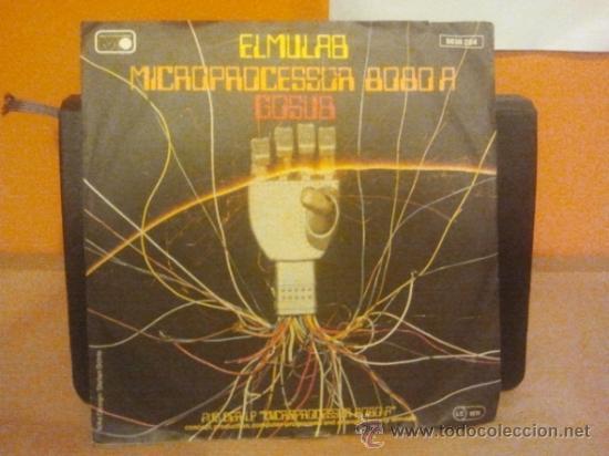 ELMULAB Microproprocessor 8080 A ORG RAR MONSTER MINT SG 80er BEAT SOUL  FUNK PSYCH