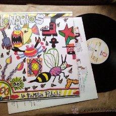 Discos de vinilo: LOS MILLONARIOS - LA FAMILIA PICHICHI (LP). Lote 37924980