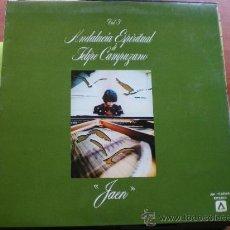 Discos de vinilo: ANDALUCIA ESPIRITUAL DE FELIPE CAMPUZANO VOL.3 'JAEN' LP 1980. Lote 37943654