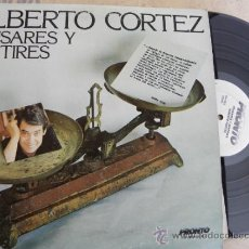Discos de vinilo: ALBERTO CORTEZ -PENSARES Y SENTIRES -LP 1977 -USA. Lote 37923436