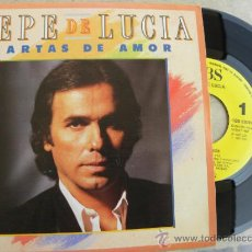 Discos de vinilo: PEPE DE LUCIA -SINGLE PROMO -1987 -IMPECABLE +50 EUROS GASTOS ENVIO GRATIS. Lote 37944219