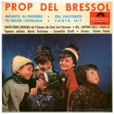 Vinyl records - ORFEO ENRIC MORERA - PROP DEL BRESSOL - EP SPAIN 1965 - POLYDOR 296 FEP - 37928061