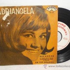 Discos de vinilo: SINGLE DE ARIANGELA ... RECORDAR (1ER PREMIO 2º FESTIVAL INT.MALLORCA) ** ZAFIRO PROMO - 1965. Lote 37930498