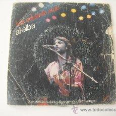 Discos de vinilo: LUIS EDUARDO AUTE - AL ALBA - ENTRE AMIGOS SINGLE 45 RPM 1983. Lote 37953421