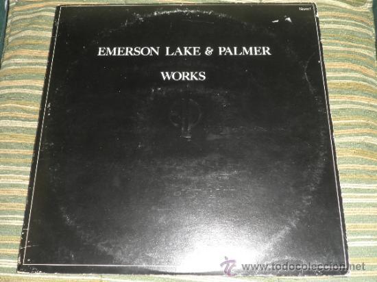 EMERSON LAKE & PALMER - WORKS DOBLE LP - ORIGINAL INGLES - ATLANTIC 1977 - TRIFOLD COVER - (Música - Discos - LP Vinilo - Pop - Rock - Extranjero de los 70)